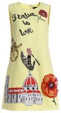 'Italia is Love' Shift dress - DESIGNER INSPIRED FASHIONS