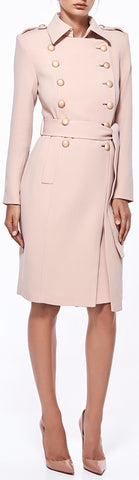 'Andrea' Trench Coat, Pink