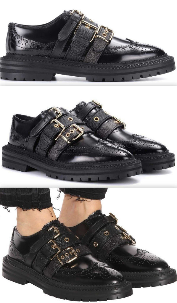 Doherty Multi-Strap Leather Brogues