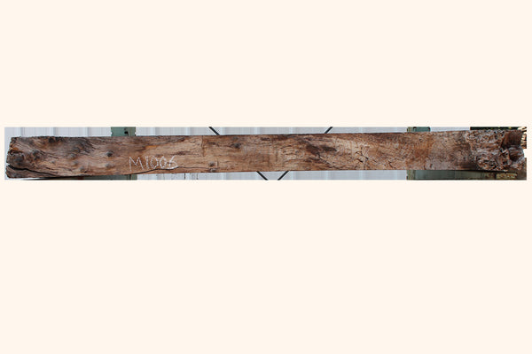 Claro Walnut Mantel M-1006