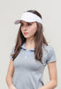 Classic Golf Visor - White on White - Scout Sports - Unisex