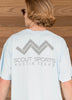 Pocket Tshirt-Light Blue colorway-Scout Sports Austin Texas on back