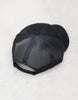 Trucker Cap-Structured Cap with Mesh-Velcro Adjuster-Black-Scout Sportsc