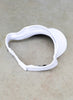Golf Visor Cap - White - Velcro Adjuster - Scout Sports