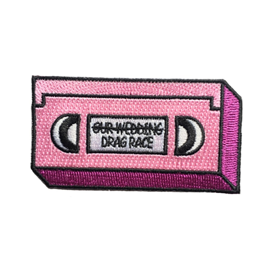Drag Race VHS Iron-On Patch - [aka]