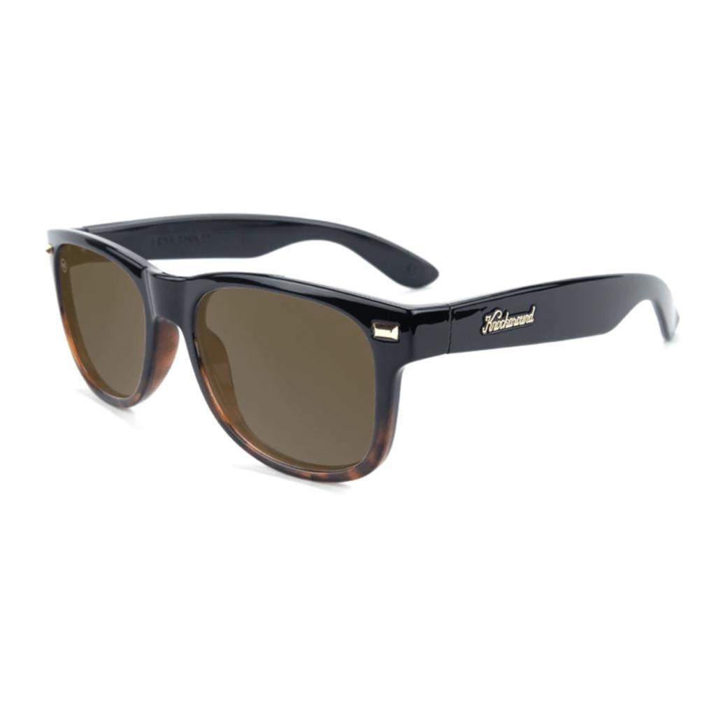 Fort Knocks, Glossy black/Tortoise fade, Amber, Polarized - [aka]