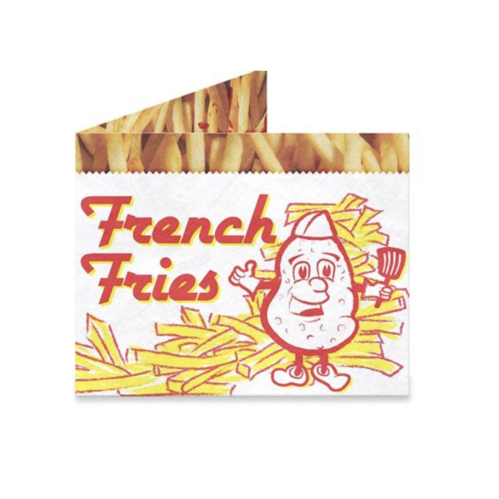 French Fries Mighty Wallet - [aka]