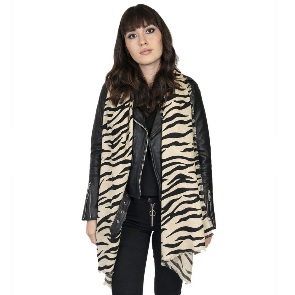 Fury Tiger Striped Scarf - [aka]