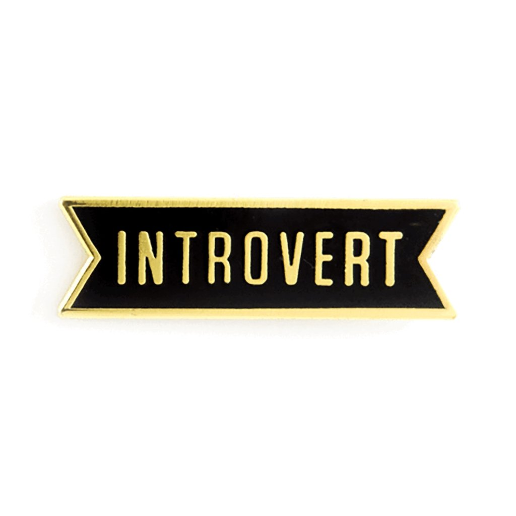 Introvert Pin - [aka]