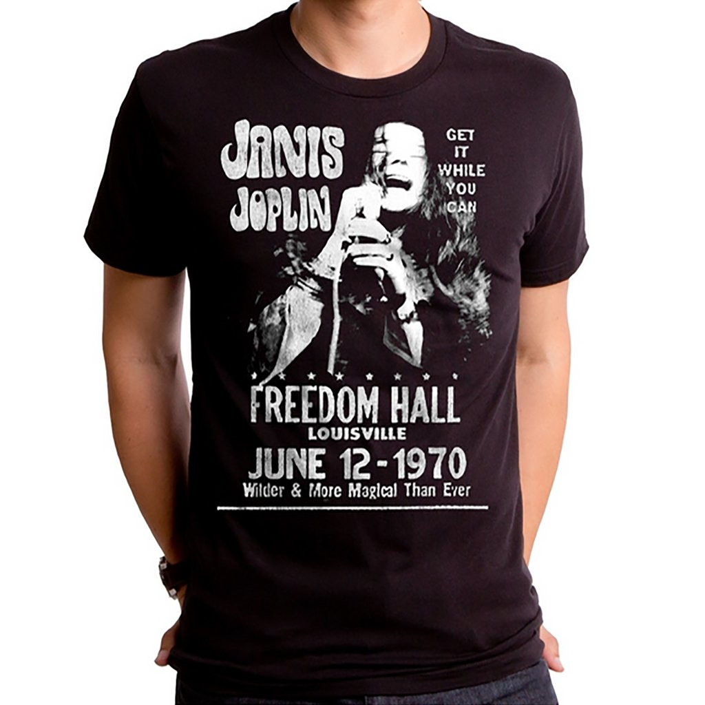 Janis Joplin at Freedom Hall Unisex Tee - [aka]