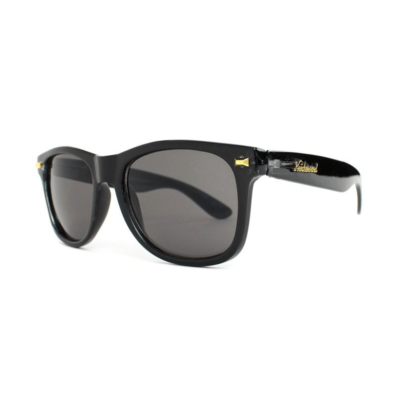 KnockAround Fort Knocks Sunglasses, Glossy Black / Smoke - [aka]