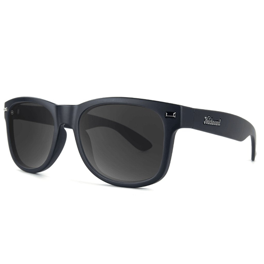 Matte Black on Black/Smoke Polarized Fort Knocks - [aka]