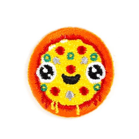 Pizza Face Sticker Patch - [aka]