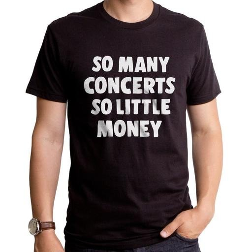 So Many Concerts Men's Tee - [aka]