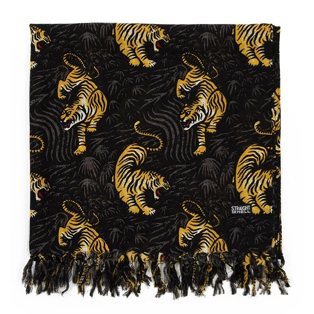 Straight to Hell Tiger Hero Scarf - [aka]