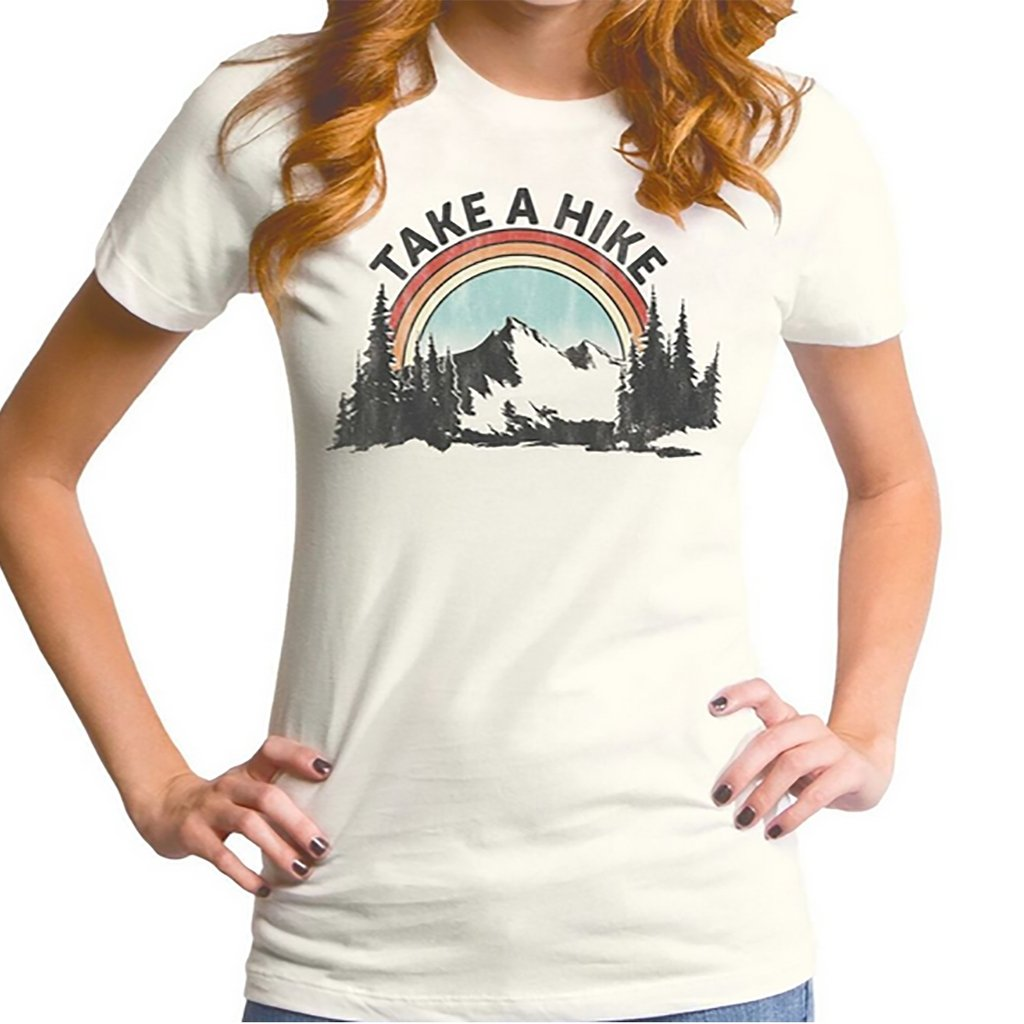 Take A Hike Ladies' Tee - [aka]