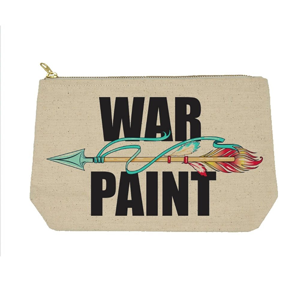 War Paint Zipper Bag - [aka]