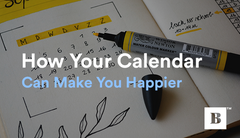How Your Calendar Can Make You Happier