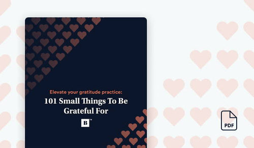 101 Small Things To Be Grateful For