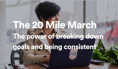 The 20-Mile March: Why Consistent Action Creates Goal Success