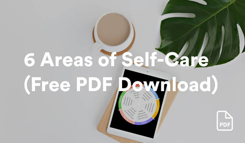6 Areas of Self-Care Wheel (Free PDF Download)