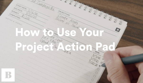 How To Use Your Project Action Pad