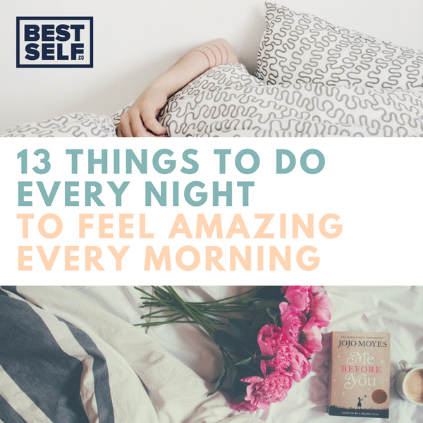 13 Things To Do Every Night Blog Post