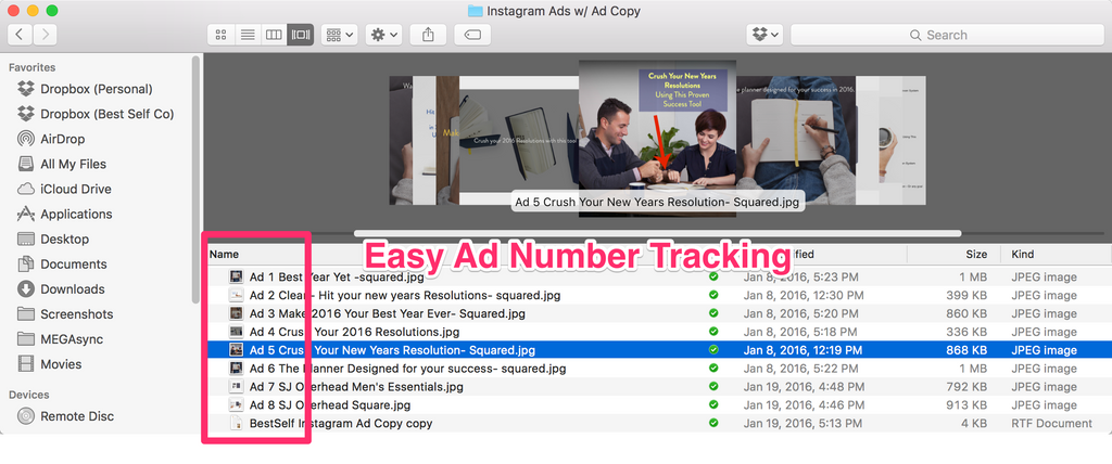 Instagram Ad Tracking