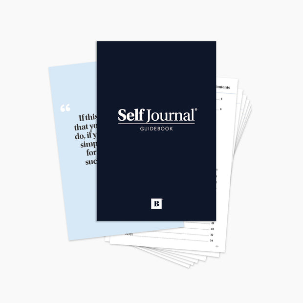 Self Journal Guidebook (Digital Download)