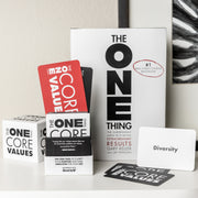 The One Thing - Core Values Deck