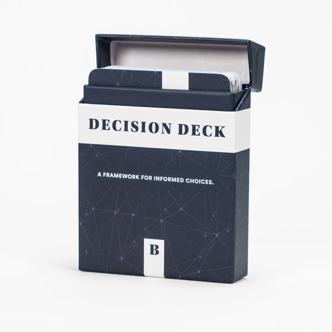 Decision Deck opened