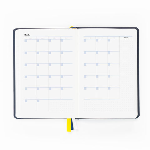 Self Journal Monthly Calendar