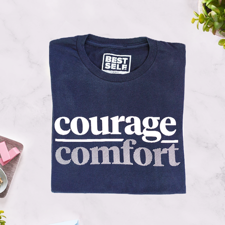 Courage Over Comfort Tee