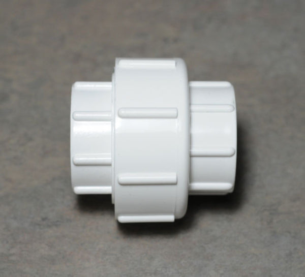 "1"" Pvc Union - Thread X Thread. Aquarium Plumbing Fitting 1 Inch"