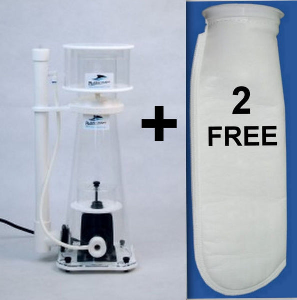 Bubble Magus Nac7 Protein Skimmer. 2 Free Filter Socks