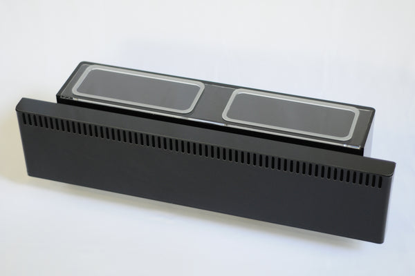 "48"" wide LOW PROFILE Overflow Box with REMOVABLE WEIR"