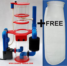 Bubble Magus Nac5e Hang On Back Protein Skimmer. Free Filter Sock With Purchase