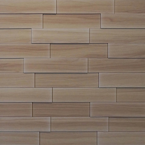 Piano Steps Beech Heart Wood - 3D Wall Panels 4-Pack (16sq. ft./ case)