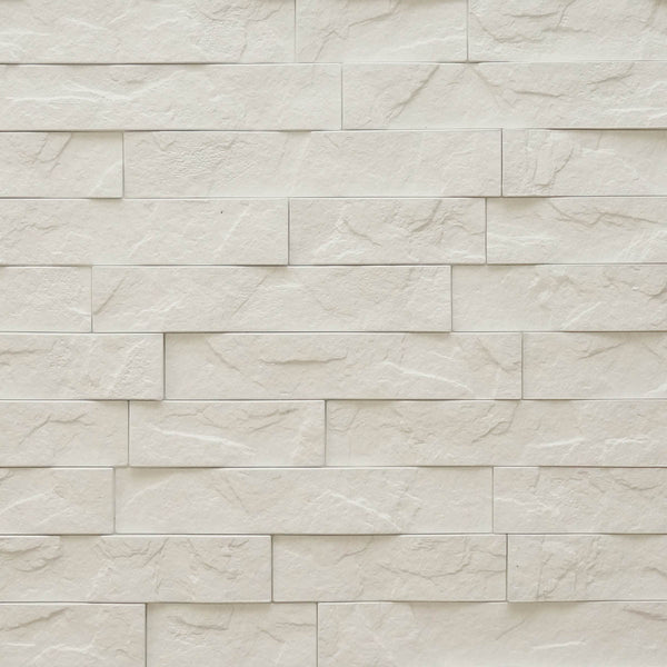 Ledge White Stone 3d Wall Panels 4 Pack 16sq Ft Case
