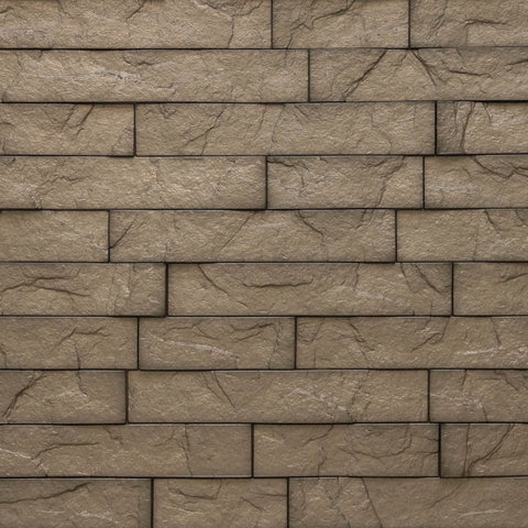 Ledge Brown Stone - 3D Wall Panels 4-Pack (16sq. ft./ case)