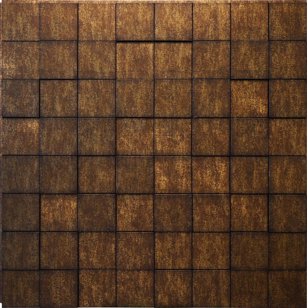 Harmony Cubes Antique Bronze - 3D Wall Panels 4-Pack (16sq. ft./ case)