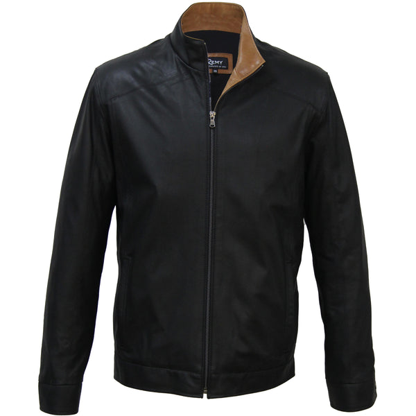 5059 - Mens Classic Style Leather Jacket