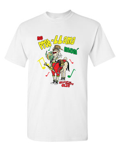 Jelly Of The Month - Llama Adult & Youth White Tee's