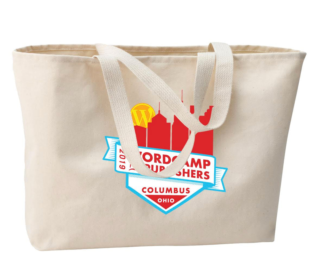 Alley Interactive - (Jumbo Tote) w/5 color imprint
