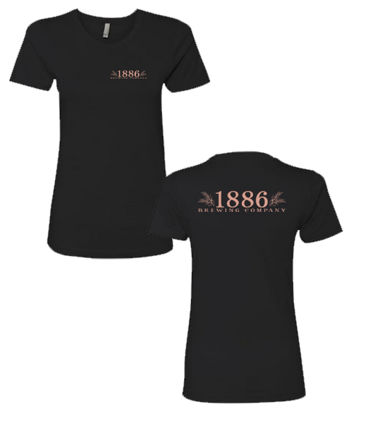 1886 - Girls Tee (Black)