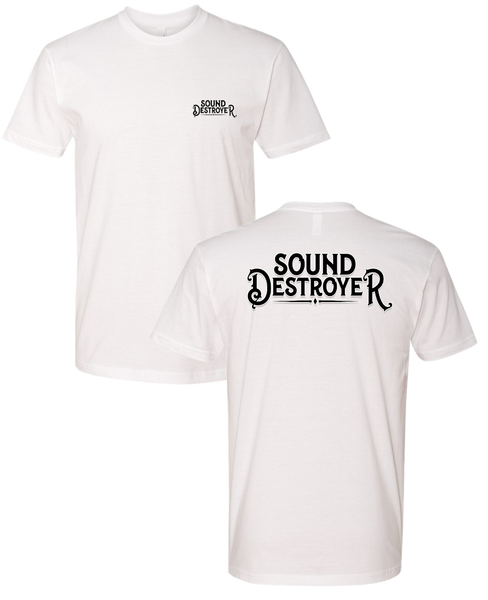 Sound Destroyer - White Tee