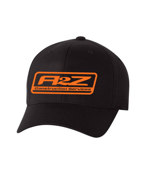 A2Z - Flex fit (with orange logo)