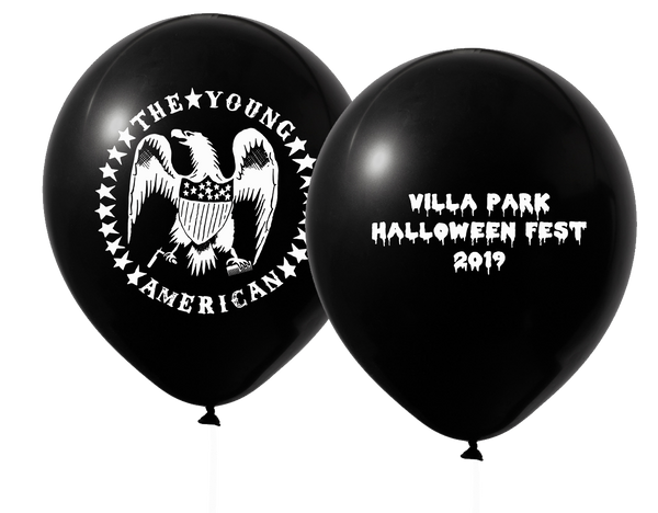 Young American Halloween Fest Balloons