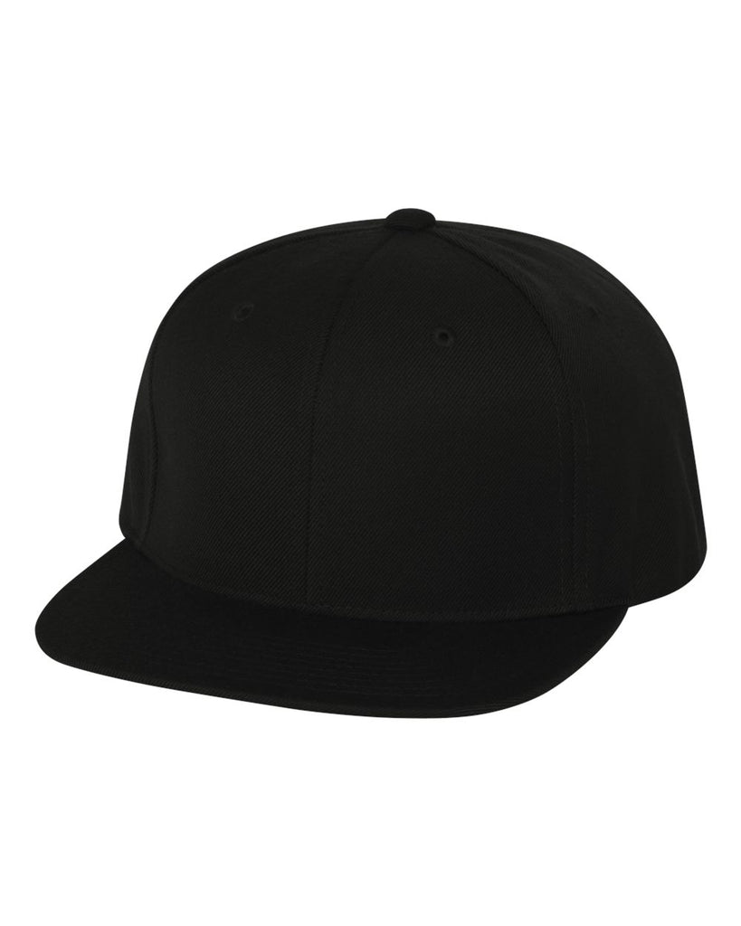 RX2 - Snapback Hat 6089M (Black) **under 1,000 units