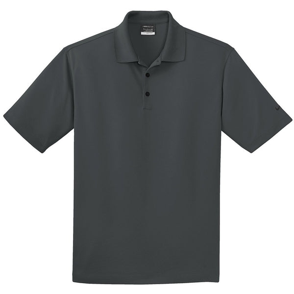 Nike Dri-FIT Micro Pique Polo (Anthracite)